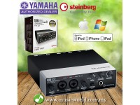 Yamaha Steinberg UR22 MKII 2 X 2 USB 2 Channel Interface Version 2 Recording Microphone