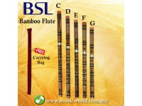 BSL Chinese Flute Bamboo Flute Professional Series With Jade Tip C D E F G key