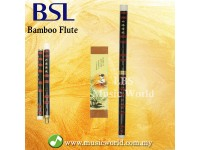 BSL Black Chinese Bamboo Flute F Key Premium Professional Flute Bamboo