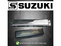 Suzuki SU-21 Humming Tremolo Harmonica Diatonic Deluxe Harp (SU21 SU21H)