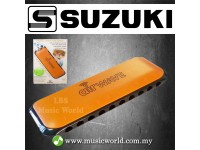 Suzuki Airwave Harmonica With Instruction Book Plastic Harmonica