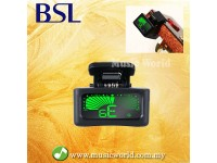 BSL Musedo T11 Tuner Clip on Guitar Violin Brass Woodwind Ukulele Bass Chromatic Tuner